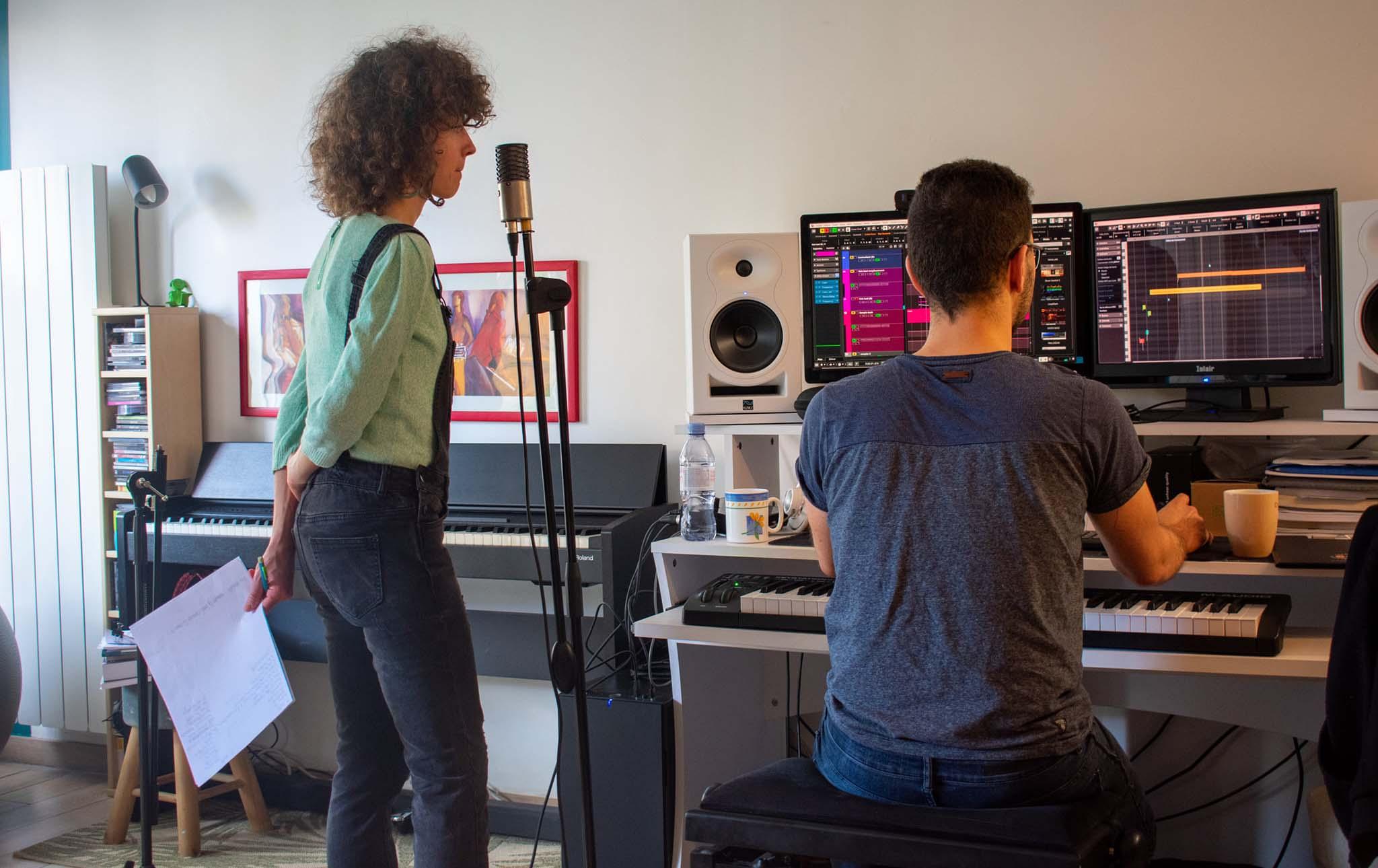 Votre studio d'enregistrement ! Composition - Arrangements - Enregistrement - Mixage - Orchestration